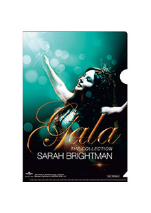 【SARAH BRIGHTMAN A5クリアファイル】 / A5クリアファイル表面柄