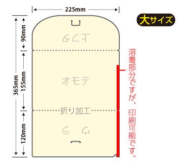 チケットホルダー大サイズ(片側加工)