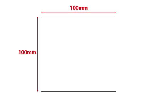 100×100mm