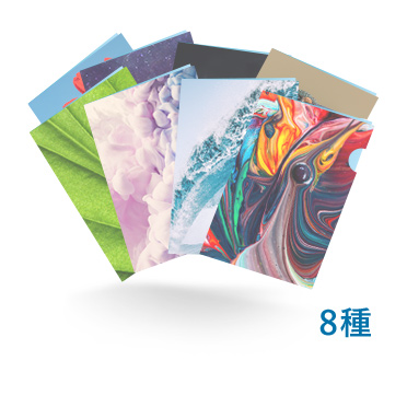 A4クリアファイル 8種同時発注