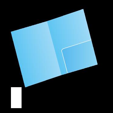 A4クリアファイルシングルポケット