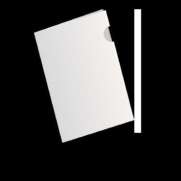 A4ホワイトファイル(白PP)