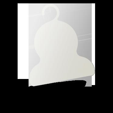 PPハンガー(白)